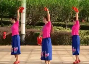 江西鄱阳春英广场舞【红红的日子】