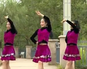 杨丽萍广场舞【痴情的牵挂】韵律32步入门