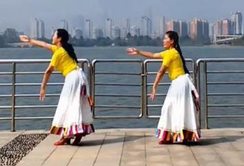 廣場舞 穿行 応子廣場舞