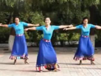 云裳廣場舞 向往拉薩 原創附教學視頻下載