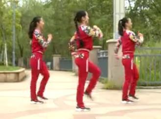 杨丽萍广场舞【dj大丰收老冰棍】韵律瘦身