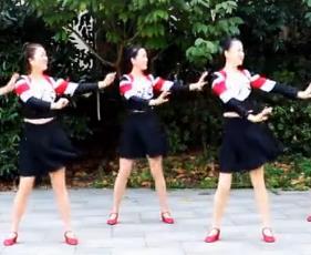 刘荣广场舞《爱情的力量》原创附教学和背面演示