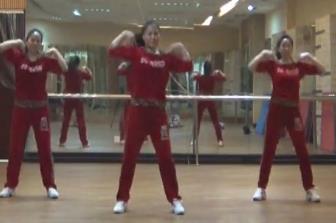 重庆叶子广场健身操《DJ兄弟别害怕》原创MP4视频下载