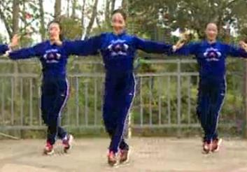 【我的快乐就是想你】杨丽萍广场舞原创韵律32步