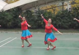 重庆叶子广场舞《卓玛的歌》原创附教学