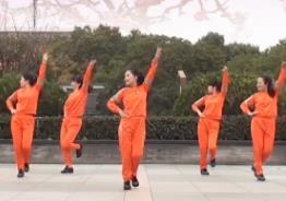 茉莉廣場舞《相思花開一朵朵》原創水兵舞附教學簡單