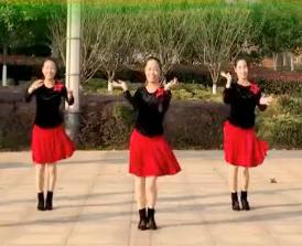 春英广场舞《美美的情歌美美的你》原创附教学
