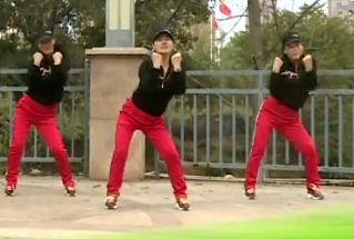 杨丽萍广场舞【中国好兄弟】励志健身操