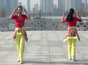 張春麗廣場舞 就要你紅 背面展示與動作分解