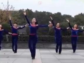 茉莉广场舞《一生无悔》
