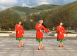 这就是草原苏州盛泽雨夜广场舞  教学