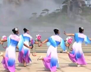 九江向霞健身舞团《江山颂》原创正背面附教学演出版