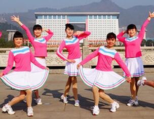 成吉思汗吉美广场舞原创 现代健身舞 附教学