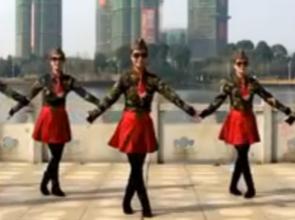 雪山姑娘 春英广场水兵舞