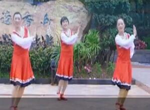 幸福天天广场舞《高原深处的爱》