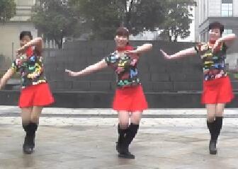 离别的车站动动广场舞 教学视频