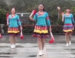 秀场姑娘茉莉广场舞 原创双扇子舞附教学