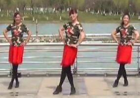 青儿广场舞水兵舞风格《相爱相守一辈子》演唱叶贝文