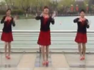 小目标 青儿广场舞  含背面动作分解教学