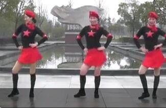 厉害了我的国 动动正能量广场水兵舞
