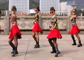 吉美广场舞原创《情哥哥》单人水兵舞 附教学