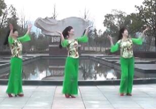 欢乐的白水洋动动广场舞 欢乐的白水洋 中三优扬