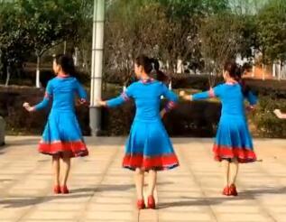 江西鄱阳春英广场舞 乌兰姑娘  视频教学