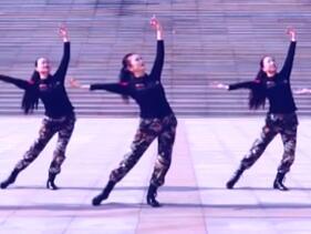 立华广场舞 英雄赞歌 正背表演与动作分解
