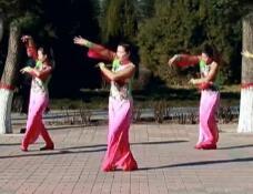 云裳广场舞《花开繁华》