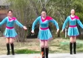 刘荣广场舞《修长姑娘》原创付教学和背面演示