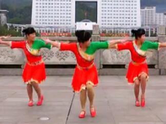 吉美广场舞《香巴拉的祝福》藏族舞 附分解