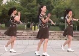 茉莉广场舞《一首醉人的歌》原创单人水兵舞简单时尚