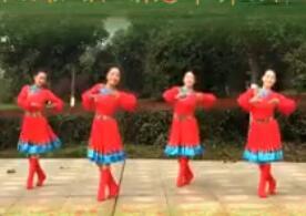 江西鄱阳春英广场舞 我爱的姑娘在草原