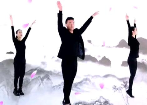 王廣成廣場健身舞《涼涼》浪漫唯美
