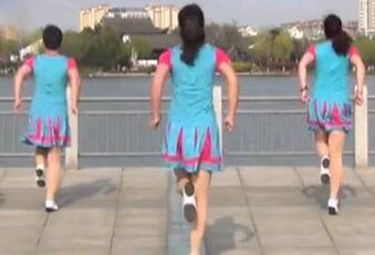 青儿广场舞 拍拍拍 含背面动作分解教学 活力现代舞