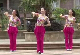 杨丽萍广场舞 你是上天的礼物DJ 放松韵律舞