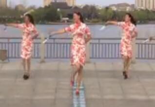 青儿广场舞古典优雅风《旗袍》旗袍广场舞
