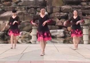 茉莉广场舞《三生三世》原创华尔滋