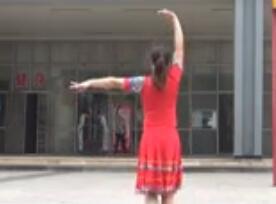 重庆叶子广场原创三步舞《月朦胧鸟朦胧》附教学