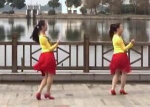 苏州雨夜广场舞 全世界我只喜欢你32步