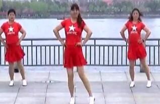 青儿广场舞原创草原风水兵舞《乌兰姑娘》