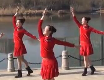 西湖莉莉广场舞《似是故人来》教学视频