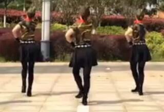 江西鄱阳春英广场舞 饮酒欢歌 含背面动作分解教学