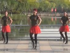 青儿广场舞《尘缘梦》教学视频
