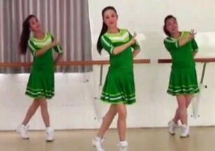 乌兰姑娘 刘荣广场舞 原创附教学