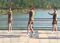 青儿广场舞原创健身广场舞《中国火起来》演唱刘馨蔚