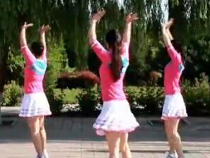 云裳广场舞《送你一首吉祥的歌》教学视频