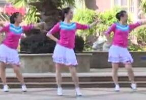 等爱的玫瑰 杨丽萍广场舞 32步入门舞蹈