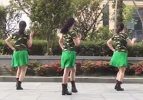 茉莉广场舞《情歌赛过春江水》原创单人水兵舞附教学