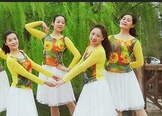 苏州雨夜广场舞《这样的感觉真好32步》